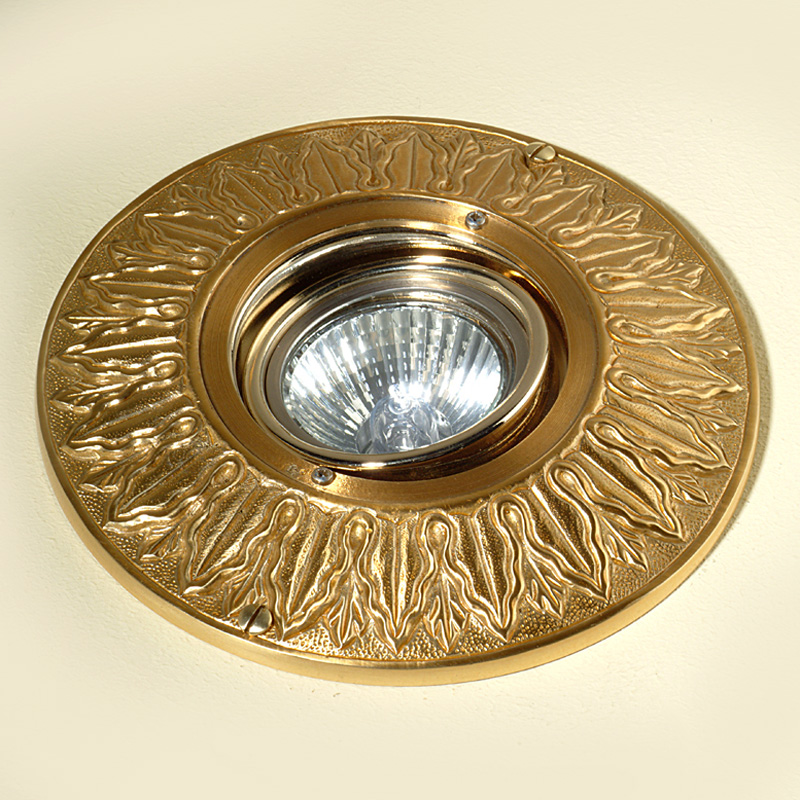 Купить Встраиваемый светильник Antonio Ciulli из металла золотого цвета, inmyroom, Италия