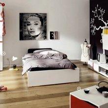 Фотография: Спальня в стиле Современный, Детская, Интерьер комнат, Постеры – фото на InMyRoom.ru