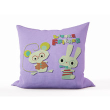 Декоративная подушка: Маленькие друзья