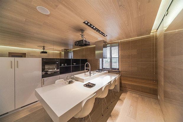 Фотография: Прочее в стиле , Кухня и столовая, Интерьер комнат, Проект недели, Дачный ответ – фото на InMyRoom.ru