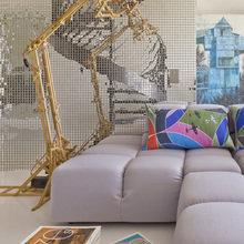 Фотография: Гостиная в стиле Современный, Квартира, Проект недели, 4 и больше, Более 90 метров, Елена Соловьева – фото на InMyRoom.ru