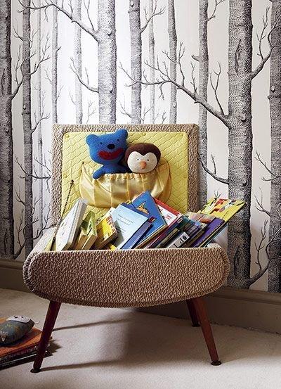 Фотография: Детская в стиле Скандинавский, Интерьер комнат, Библиотека – фото на InMyRoom.ru