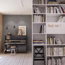 Фото из портфолио Квартира в стиле Mid-century modern от INT2 – фотографии дизайна интерьеров на InMyRoom.ru