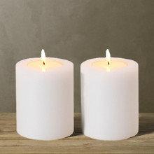 Свечи декоративные, набор из 2 шт
