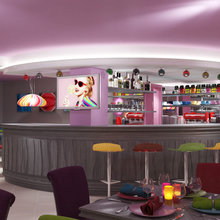 """Фото из портфолио Ресторан """"Карамель"""" – фотографии дизайна интерьеров на InMyRoom.ru"""