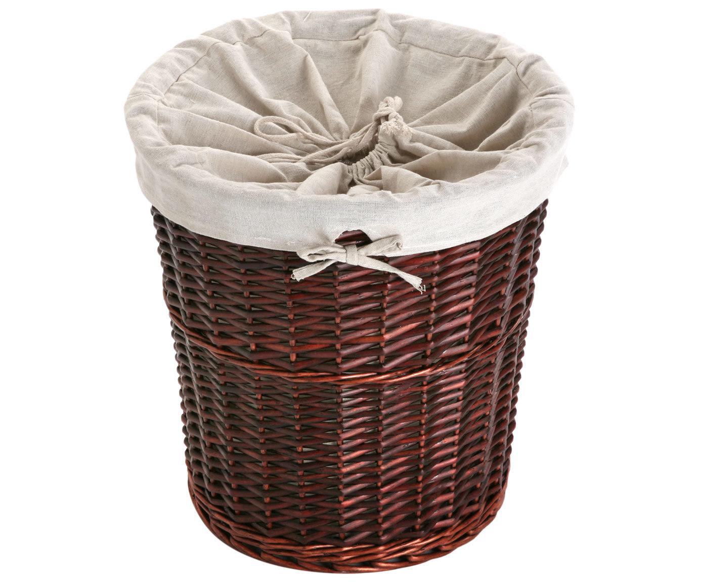 Купить Плетенная корзина для белья коричневого цвета, inmyroom, Китай