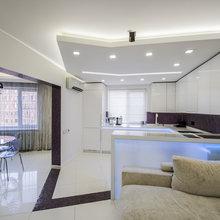 Фотография: Кухня и столовая в стиле Хай-тек – фото на InMyRoom.ru