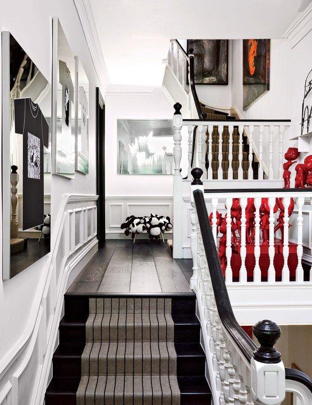 Фото из портфолио Как современное искусство может освежить ваш дом – фотографии дизайна интерьеров на INMYROOM