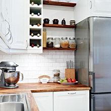 Фотография: Кухня и столовая в стиле Скандинавский, Современный, Интерьер комнат – фото на InMyRoom.ru