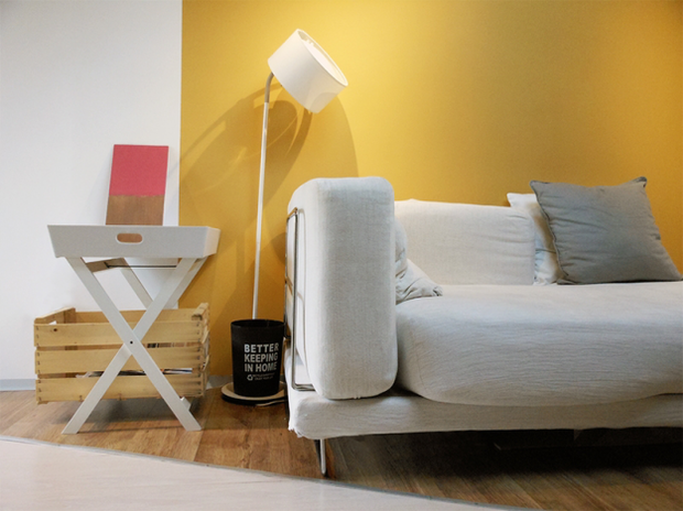 Фотография: Мебель и свет в стиле Лофт, Малогабаритная квартира, Квартира, Дома и квартиры, Чердак, Мансарда – фото на InMyRoom.ru