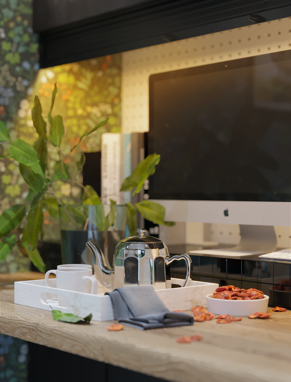 Фотография: Кухня и столовая в стиле Скандинавский, Квартира, Проект недели, Московская область, 1 комната, до 40 метров, Ира Носова – фото на InMyRoom.ru
