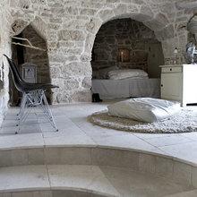 Фотография: Спальня в стиле Кантри, Эклектика, Лофт, Декор интерьера, Декор дома, Стены – фото на InMyRoom.ru