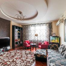 Фотография: Гостиная в стиле Современный, Эклектика, Кухня и столовая, Прихожая, Спальня, Квартира, Дома и квартиры – фото на InMyRoom.ru