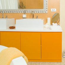 Фотография: Ванная в стиле Классический, Современный, Декор интерьера, Мебель и свет, Марат Ка – фото на InMyRoom.ru