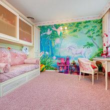 """Фото из портфолио Детская комната """"Мечта розовой феи"""" – фотографии дизайна интерьеров на InMyRoom.ru"""