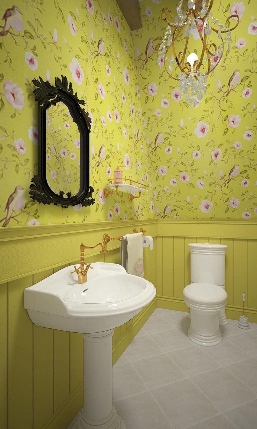 Фотография: Ванная в стиле , Декор интерьера, Дом, Country Corner, Дома и квартиры, Прованс, Проект недели – фото на InMyRoom.ru