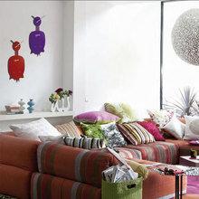 Фотография: Гостиная в стиле Кантри, Декор интерьера, Часы, Декор дома – фото на InMyRoom.ru