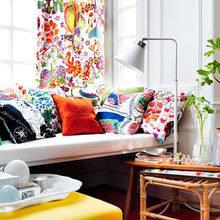 Фотография: Гостиная в стиле Кантри, Декор интерьера, Текстиль – фото на InMyRoom.ru