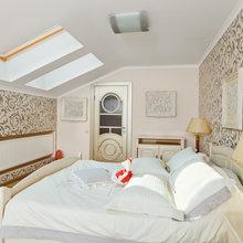 Фотография: Спальня в стиле Классический, Современный, Декор интерьера, Интерьер комнат, Цвет в интерьере, Белый – фото на InMyRoom.ru
