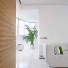 Фотография: Прихожая в стиле Минимализм, Квартира, Цвет в интерьере, Дома и квартиры, Стены – фото на InMyRoom.ru