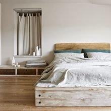 Фотография: Спальня в стиле Скандинавский, Декор интерьера, Декор, Советы, Эко – фото на InMyRoom.ru