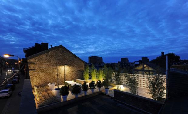 Фотография: Архитектура в стиле , Лофт, Современный, Квартира, Дома и квартиры, Футуризм – фото на InMyRoom.ru