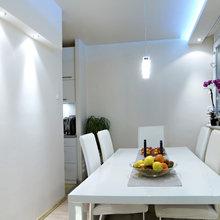 Фотография: Кухня и столовая в стиле Современный, Декор интерьера, Дом, Мебель и свет, Стол, Винтаж – фото на InMyRoom.ru