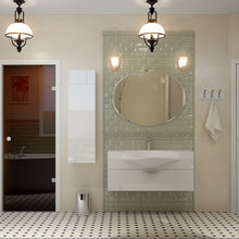 Фотография: Ванная в стиле Скандинавский, Современный – фото на InMyRoom.ru