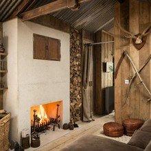 """Фото из портфолио Проект дома """"FIREFLY"""": Дерево+Бетон – фотографии дизайна интерьеров на INMYROOM"""