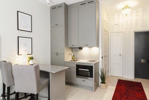 Фотография: Кухня и столовая в стиле Современный, Скандинавский, Квартира, Швеция, Советы – фото на INMYROOM