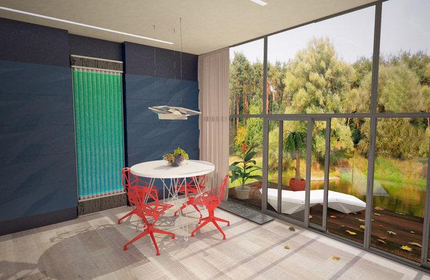 Фото из портфолио Кухня-гостиная загородного дома – фотографии дизайна интерьеров на INMYROOM