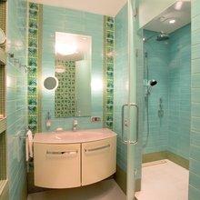 Фотография: Ванная в стиле Современный, Квартира, Дома и квартиры, Пентхаус – фото на InMyRoom.ru
