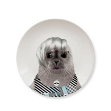 "Обеденная тарелка ""baby seal"""