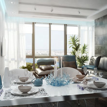 Фото из портфолио Видовая квартира – фотографии дизайна интерьеров на InMyRoom.ru