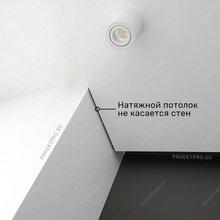 Фото из портфолио Теневой натяжной потолок – фотографии дизайна интерьеров на INMYROOM
