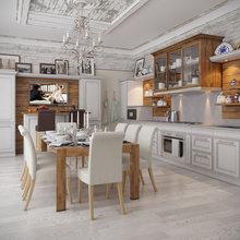 Фотография: Кухня и столовая в стиле Кантри, Классический, Дом, Дома и квартиры, Прованс, Проект недели – фото на InMyRoom.ru