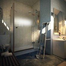 Фотография: Ванная в стиле Современный, Дом, Дома и квартиры, Картины – фото на InMyRoom.ru