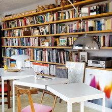 Фотография: Кабинет в стиле Скандинавский, Эклектика, Квартира, Дома и квартиры – фото на InMyRoom.ru