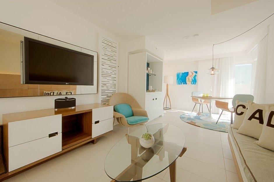 Фотография: Гостиная в стиле Скандинавский, Современный, Дома и квартиры, Городские места, Бразилия – фото на InMyRoom.ru