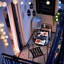 Фотография: Балкон в стиле Скандинавский, Декор интерьера, Советы, идеи оформления балкона, как оформить балкон, освещение балкона, декор для балкона, полезные мелочи для балкона – фото на InMyRoom.ru