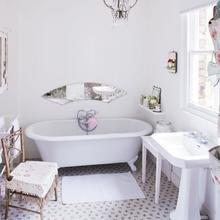 Фотография: Ванная в стиле Современный, Дом, Дома и квартиры, Шебби-шик – фото на InMyRoom.ru