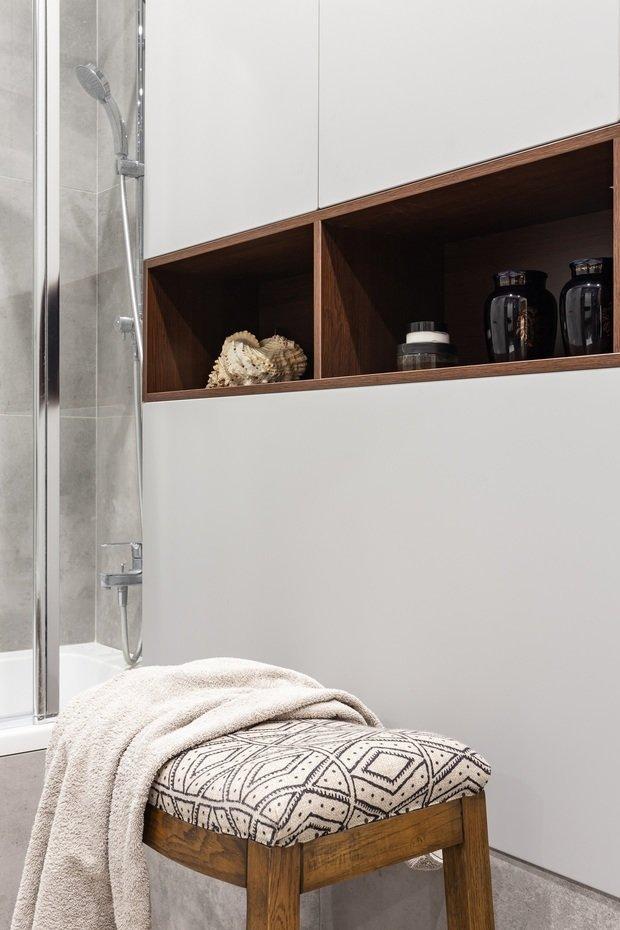 Фотография: Ванная в стиле Современный, Эклектика, Квартира, Проект недели, Москва, 3 комнаты, Более 90 метров, Наталья Яшузакова – фото на INMYROOM