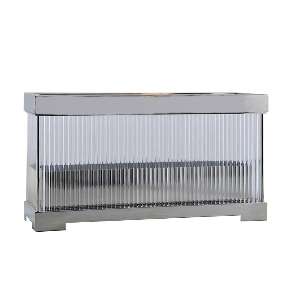 Купить Ваза из хромированного металла и стеклянных трубоче, inmyroom, Китай
