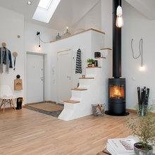 Фотография: Прихожая в стиле Скандинавский, Декор интерьера, Швеция, Декор дома, Цвет в интерьере, Белый – фото на InMyRoom.ru