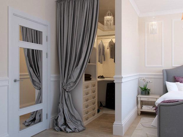 шкаф шторы