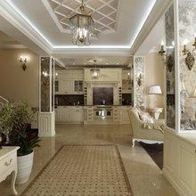 Фото из портфолио Коттедж в стиле Современная классика – фотографии дизайна интерьеров на INMYROOM