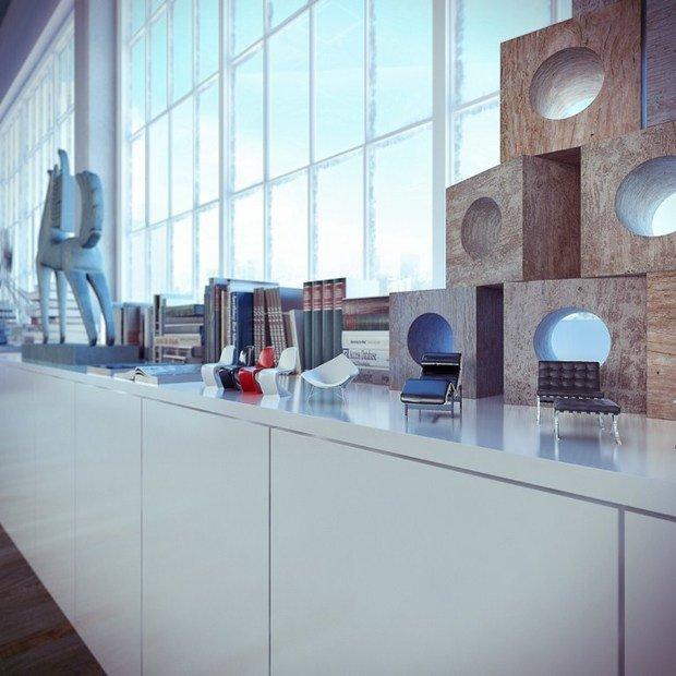 Фотография: Декор в стиле Лофт, Современный, Эклектика, Декор интерьера, Квартира, Дома и квартиры, Проект недели, Илья Беленя – фото на InMyRoom.ru