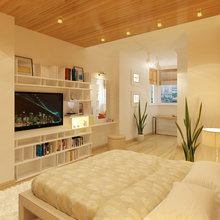 Фото из портфолио Квартира для большой семьи – фотографии дизайна интерьеров на INMYROOM