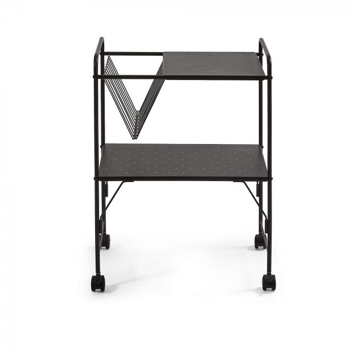 Сервировочный стол Strahan черного цвета