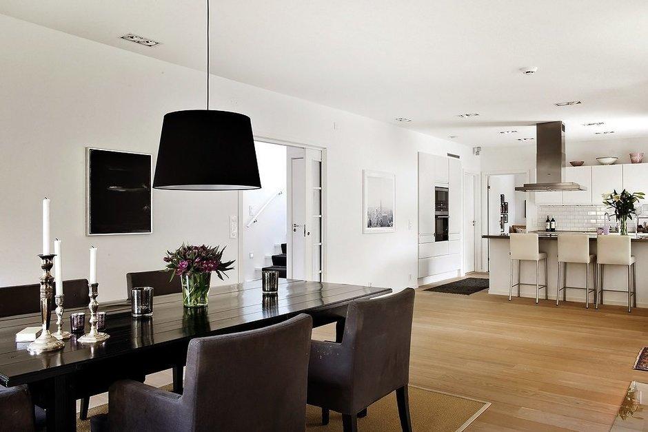 Фотография: Кухня и столовая в стиле , Скандинавский, Дом, Дома и квартиры – фото на InMyRoom.ru